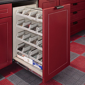 Garage Specialty Cabinets Parts Bin